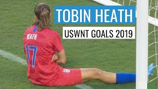 Tobin Heath USWNT Goals 2019
