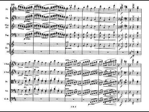 Johannes Brahms - Symphony no.2, op.73 (complete)