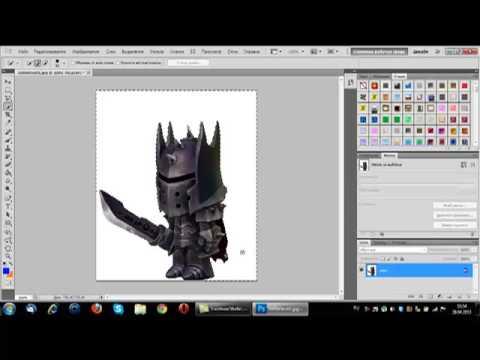 Как сделать прозрачный фон с картинки в фотошопе cs6