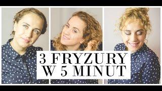 3 FRYZURY W 5 MINUT