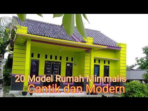 20 desain rumah minimalis, cantik dan modern - youtube