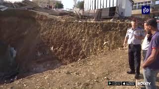 وفاة مصريين واستمرار البحث عن ثالث إثر انهيار جدار استنادي - (27-10-2019)