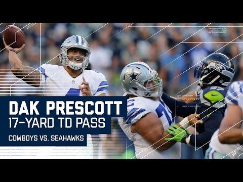 Dak Prescott Slings One to Jason Witten for the TD! | Cowboys vs. Seahawks (Preseason) | NFL
