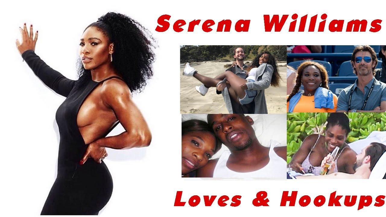 serena williams dating black men