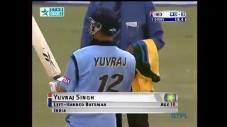 Yuvraj Singh Debut Match Vs Australia Full Match Highlights-Must Watch
