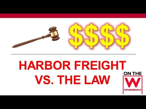 Harbor Freight's Recent Lawsuits (Sales Prices & Floor Jacks)