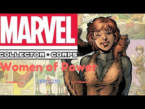 Marvel Collector Corp: Women of Power Unboxing