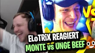 ELoTRiX reagiert auf Monte vs Unge Beef Teil 1-3 | ELoTRiX Livestream Highlights