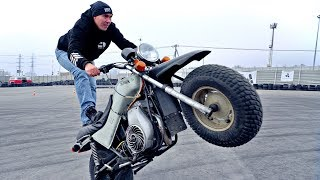 Soviet Motorcycle TULA | Stunt Review