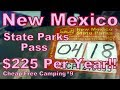 Cheap Camping: New Mexico State Parks $225 Annual Pass