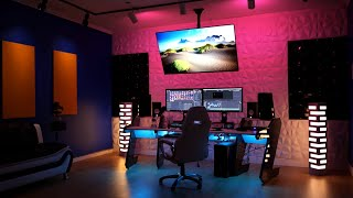 How I built my DREAM STUDIO (This is SICK!) Coolest youtuber setup 2021