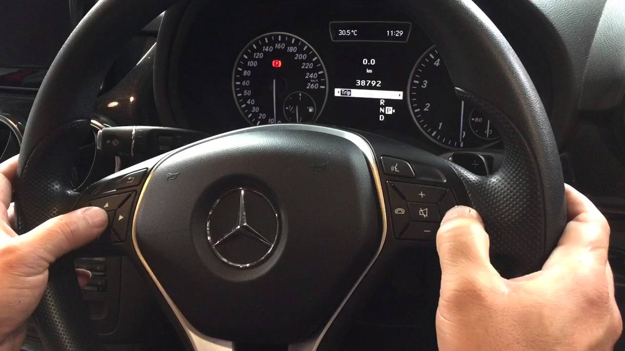 Mercedes b180 service light reset youtube for What is service a and b on mercedes benz