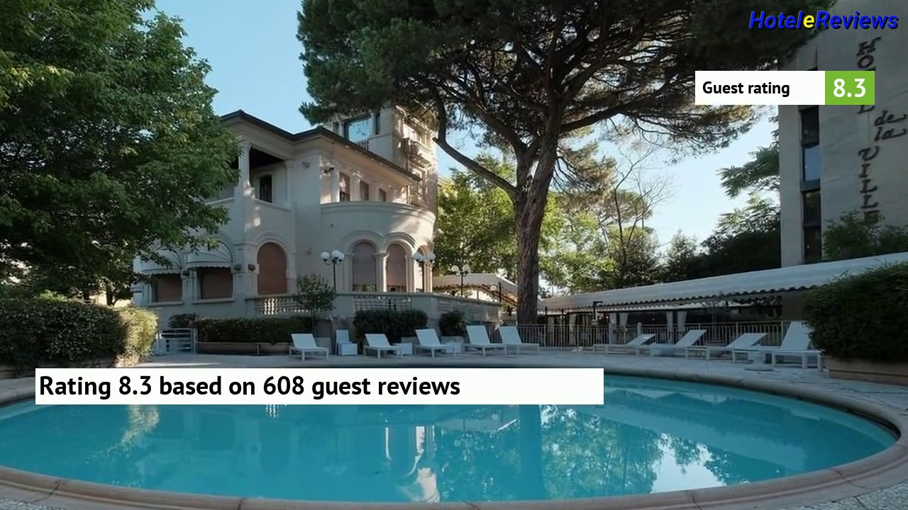 Hotel De La Ville **** Hotel Review 2017 HD, Riccione, Italy - YouTube