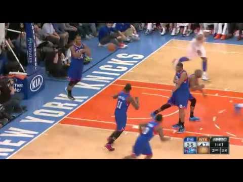Philadelphia 76ers vs New York Knicks - February 24, 2013