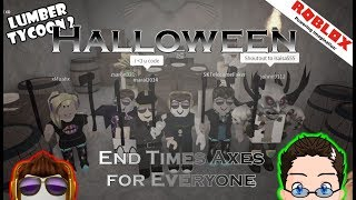 Roblox - Lumber Tycoon 2 - Halloween End Times Axe
