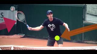 Andy Murray volley.