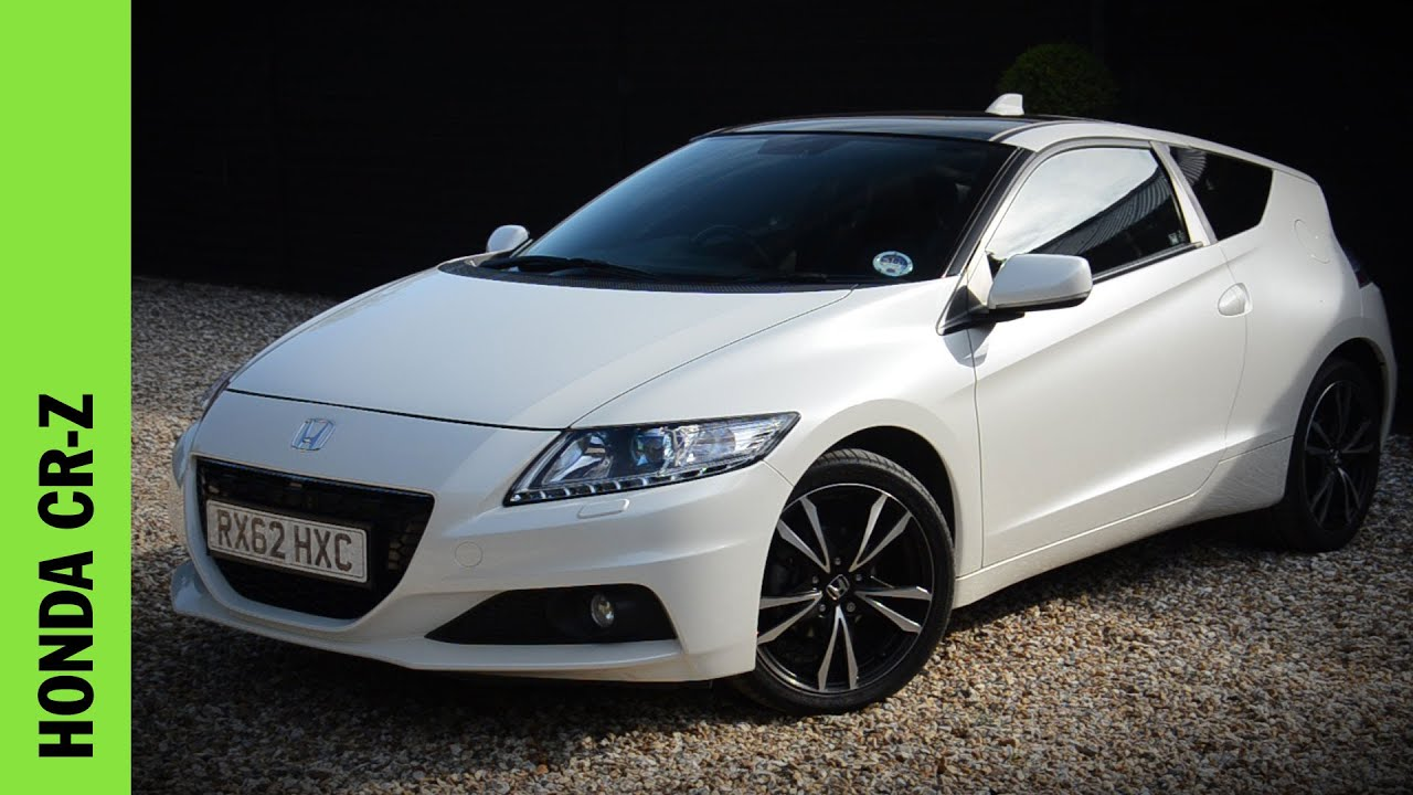 Honda CR Z Review   YouTube