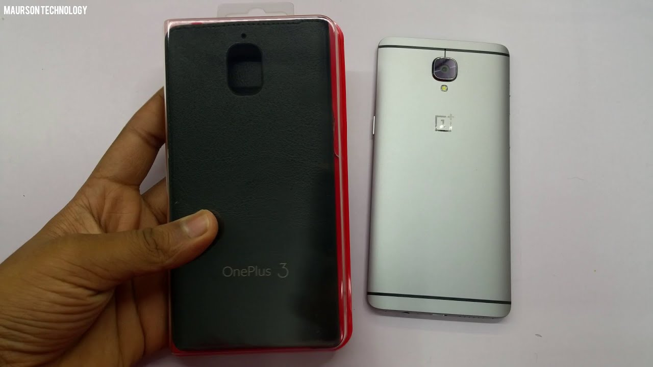 pretty nice 82ce9 4d614 OnePlus 3/3T Official Flip Cover Review
