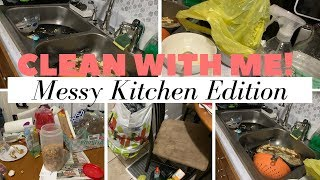 CLEAN WITH ME // DEEP CLEANING KITCHEN // FALL DECORATING // SHYVONNE MELANIE TV