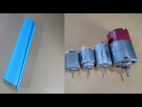 মটর ও কাগজ দিয়ে চমৎকার আইডিয়া ।। DIY Awesome Idea For DC Motor And Color Paper -  Life Hack