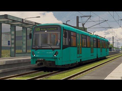 LET`S TEST Train Simulator 2015 / U9 nach Nieder-Eschbach / Frankfurter U-Bahn