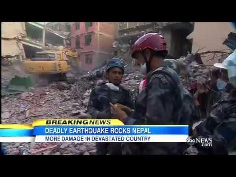 Breaking News May 2015 Nepal Earth Quake 7.3 2nd Major Earthquake involves India & Afghanistan