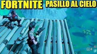 FORTNITE - (56:00) LA RAMPA AL CIELO FUNCIONA... A VECES | Gameplay Español