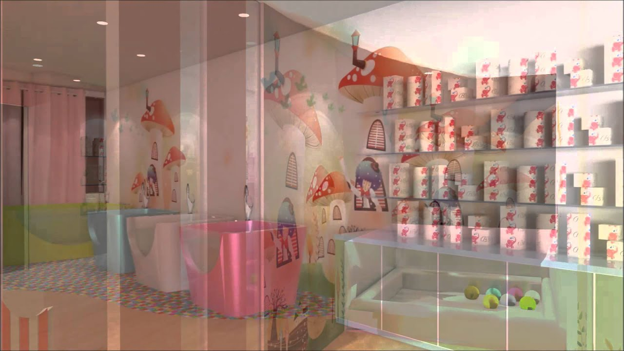 Baby Spa shop design 1080p interior my YouTube