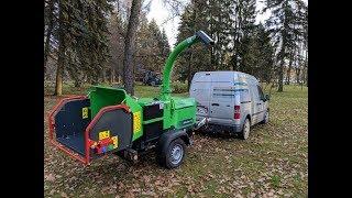Обзор измельчитель веток GreenMech Arborist 150