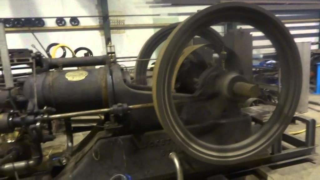 26hp blackstone oil engine start up youtube for Sale on motor oil