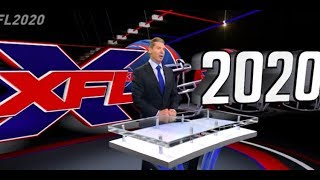 XFL introduction 2020 UPDATE  CAN
