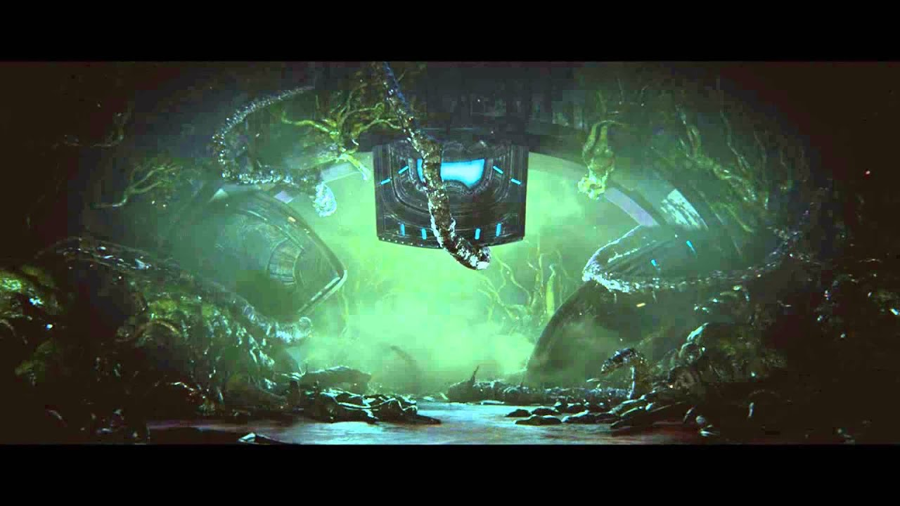 Halo 2 Anniversary After Credits Gravemind I Will Ask You You Will Answer Cortana Cutscene