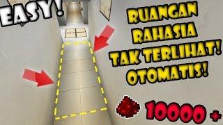 BIKIN Jalan RAHASIA TAK TERLIHAT OTOMATIS! - Final FULL REDSTONE Minecraft Indonesia #26