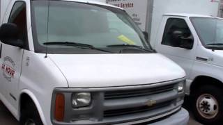 ISUZU Box Truck, Utility Truck, Ford Box Trucks, Pressure Washer - Auction - For Sale