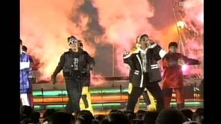 Yukgaksu - HeungBo, 육각수 - 흥보가 기가 막혀, MBC Top Music 19951215