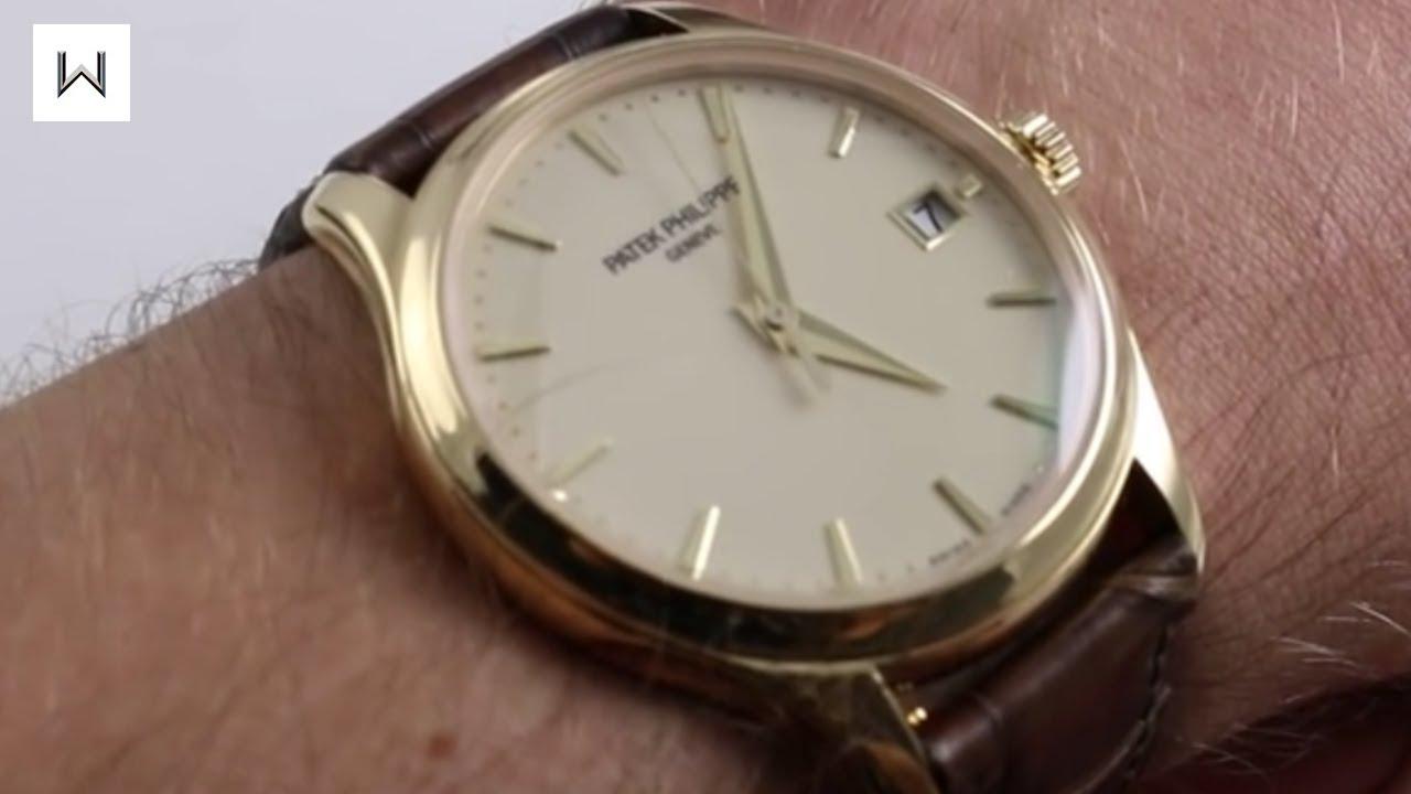 Patek Philippe Calatrava 5227j Luxury Watch Review