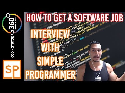 How to Get a Software Job (ft. Simple Programmer)