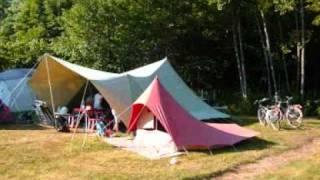 Camping clos de la chaume vosges alsace lorraine france in Nederlands NL.wmv