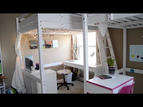 Cecilia's Loft Bed Room Tour // Three Peas