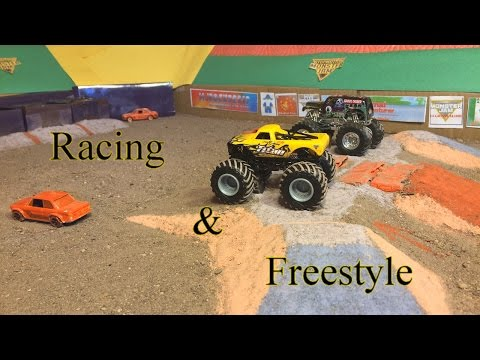 StopMotion MonsterJam: Indianapolis! Racing and Freestyle