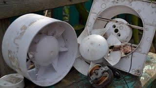 видео Вентилятор вытяжной для ванной - центробежный, канальный и осевой