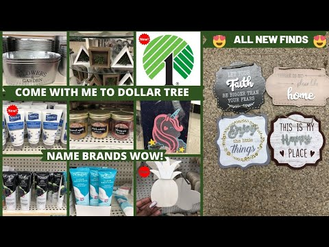 MUST SEE *NEW*NAME BRANDS DOLLAR TREE 🌳 IN STORE WALKTHROUGH ALL NEW FINDS*MUST WATCH WALKTHROUGH!
