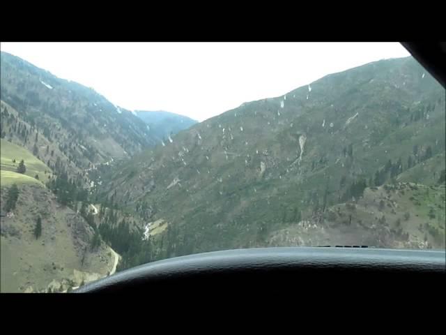 David Petersen Landing Yellow Jacket Ranch MAF Standardization Summer 2014