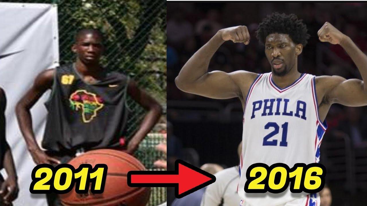 Craziest NBA BODY Transformations  PART 2  Embiid 493092682