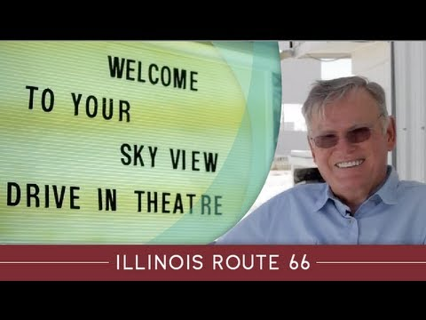 Illinois Route 66 Attraction Stories: Sky View Drive-In, Litchfield