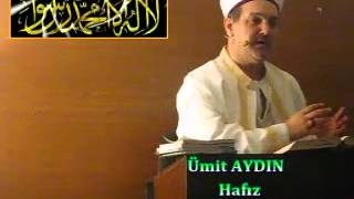 Cuma Vaaz'ı,Yeraltı Camii İmam Hatibi / Hafız Ümit AYDIN