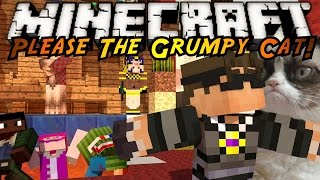 Minecraft Mini-Game : PLEASE THE GRUMPY CAT 2!
