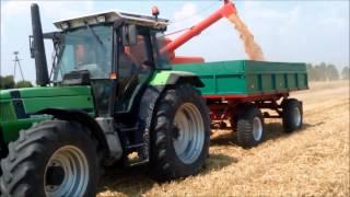 Żniwa 2015 DEUTZ FAHR M 2780, AGROSTAR 6,31, DX160 Małopolska