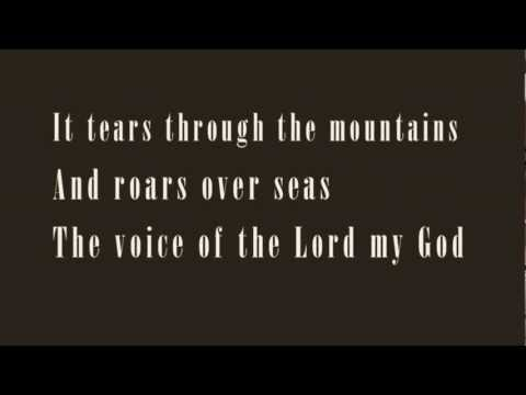 """""""The Voice Of The Lord (Psalm 29)"""" song by Hoss Hughes"""