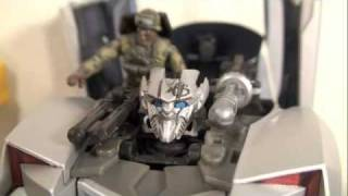 Transformers 2 ROTF Movie Human Alliance Sideswipe with Sergeant Epps Review